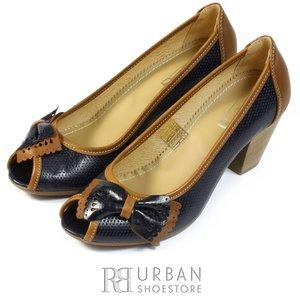 Pantofi din piele naturala - 276 blue