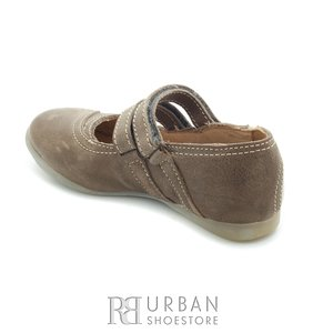 Pantofi din piele naturala - nina verde