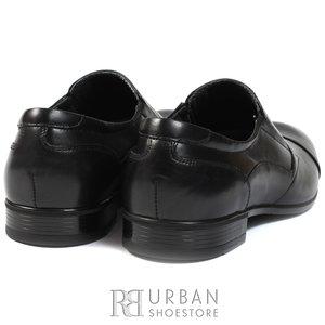 Pantofi eleganti barbati din piele naturala,Leofex - 110-2 negru box