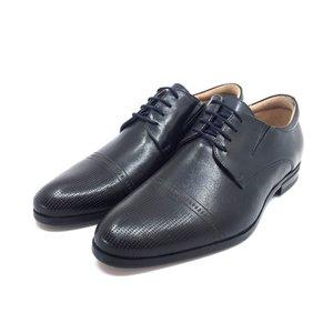 Pantofi eleganti barbati din piele naturala, Leofex - 522 Blue Box