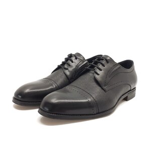Pantofi eleganti barbati din piele naturala, Leofex - 575-1 negru
