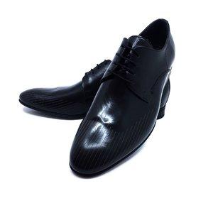 Pantofi eleganti barbati din piele naturala, Leofex - 822 Negru