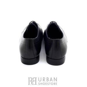 Pantofi eleganti barbati din piele naturala, Leofex - 889 negru box