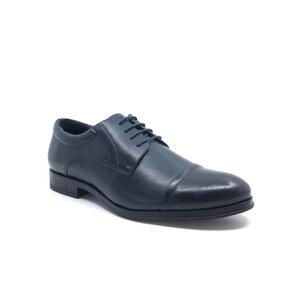 Pantofi eleganti barbati din piele naturala Leofex- 930 Blue Box