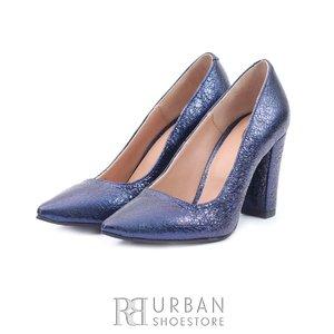 Pantofi eleganti dama din piele naturala  - 165 Blue Box