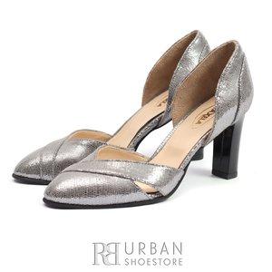 Pantofi eleganti dama din piele naturala - 1923 Argintiu