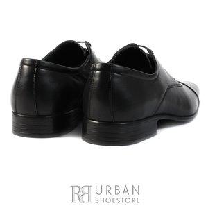 Pantofi eleganti Derby din piele naturala - 602 negru