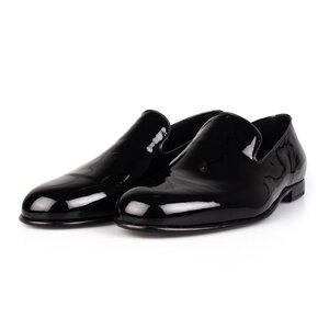 Pantofi eleganti din lac fara siret- Mostra Lesley