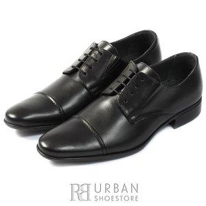 Pantofi eleganti din piele naturala - 510 negru