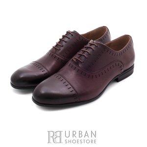 Pantofi eleganti din piele naturala - 890 Maro