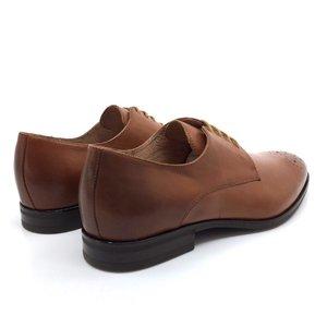 Pantofi Eleganti din Piele Naturala- 898 Cognac