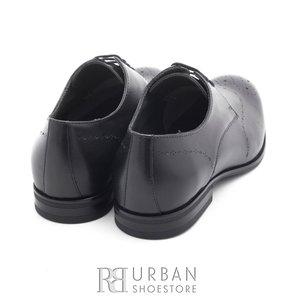 Pantofi eleganti din piele naturala - 898 negru