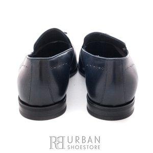 Pantofi eleganti din piele naturala - 899 blue box