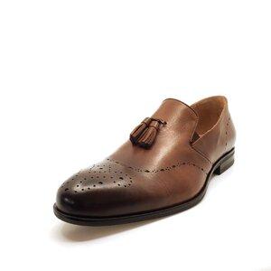 Pantofi eleganti din piele naturala - 899 cognac
