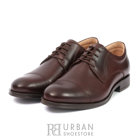 Pantofi eleganti din piele naturala - 930 maro box