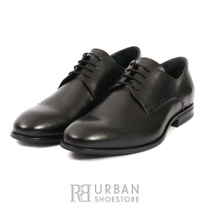 Pantofi eleganti din piele naturala Leofex 931 Negru Box