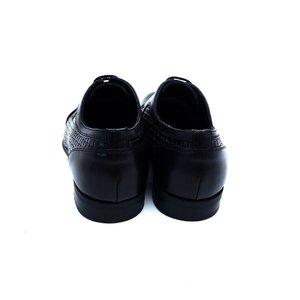 Pantofi eleganti din piele naturala Leofex - 525 Negru Box