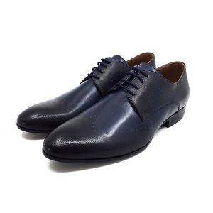 Pantofi eleganti din piele naturala Leofex - 889  Blue
