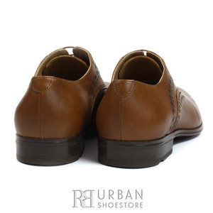 Pantofi Oxford din piele de bivol - 748 cognac