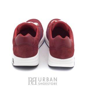 Pantofi sport barbati din piele naturala, Leofex - 883 rosu
