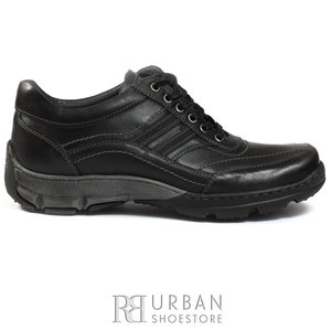 Pantofi sport-casual din piele naturala - 131 negru