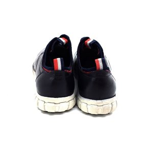 Pantofi sport-casual din piele naturala - 942-1 Blue