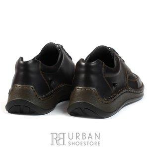 Pantofi sport-casual perforati - 759 blue