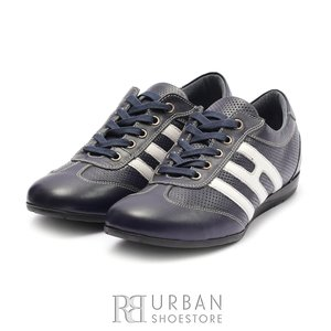 Pantofi sport dama din piele naturala, Leofex- 552 Blue box