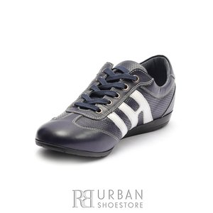 Pantofi sport dama din piele naturala Leofex- 552 Blue Box