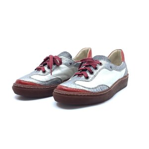 Pantofi sport dama din piele naturala, Leofex - Mostra Coco