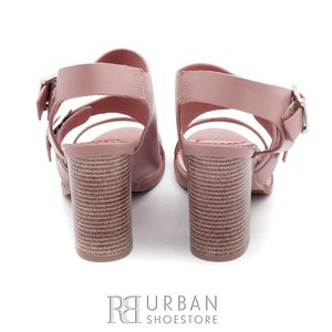 Sandale casual din piele naturala - 036 Taupe-flori
