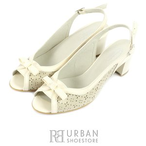 Sandale dama din piele naturala - 219 bej