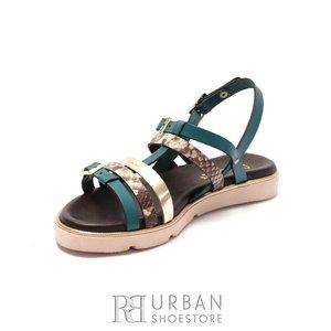 Sandale dama din piele naturala - Eva39 Multicolor Box