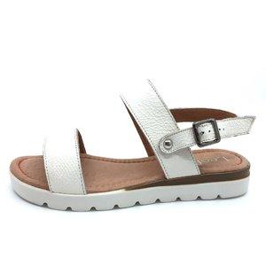 Sandale de piele naturala 043 alb box
