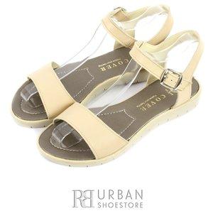 Sandale din piele naturala - 506 bej