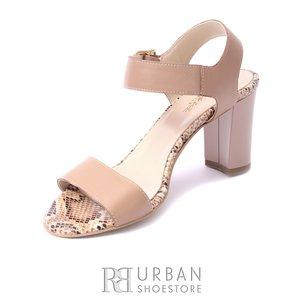 Sandale elegante- C3  CAPUCCINO BOX+SARPE