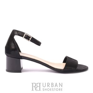 Sandale elegante din piele naturala box- PS78 Negru Box