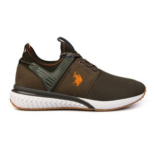 Sneakers barbati U.S. POLO ASSN.-501 Kaki