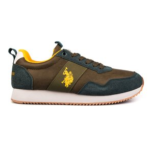 Sneakers barbati U.S. POLO ASSN.-502 Kaki
