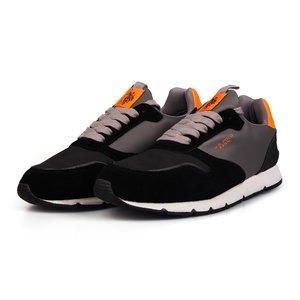 Sneakers barbati U.S. POLO ASSN.-502 Negru cu Gri