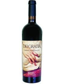 1000 de Chipuri - Dei Gratia - Cabernet sauvignon, 0,75 L