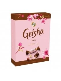 Ciocolata Fazer Geisha Dark Chocolate With Crispy Hazelnut Filling
