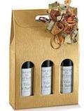 Cutie cadou vinuri 3 Sticle - Gentuta - Aurie