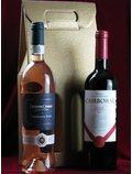 Pachet vinuri cadou Tamaioasa roza -Camboral reserva - cutie cadou