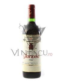 Rioja - Glorioso, 1986. Vinuri rosii de colectie din Spania.