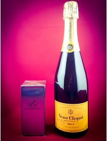 Sampanie Veuve Clicquot - Parfum Mr Burberry